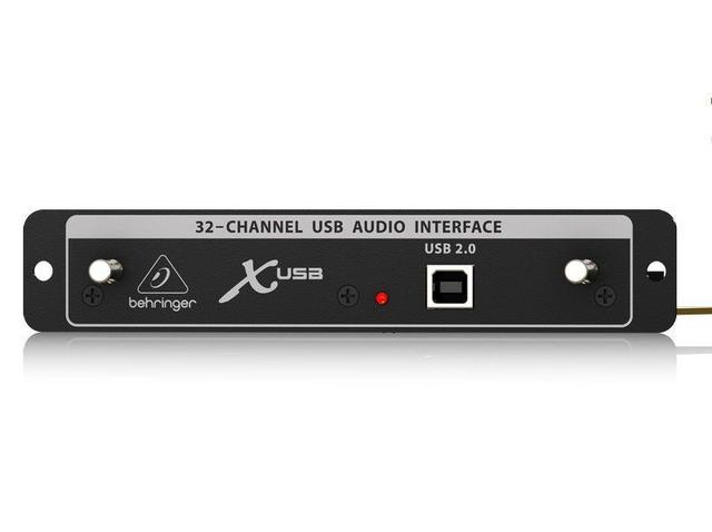 Imagem de Placa USB Behringer 32 in 32 out para X32