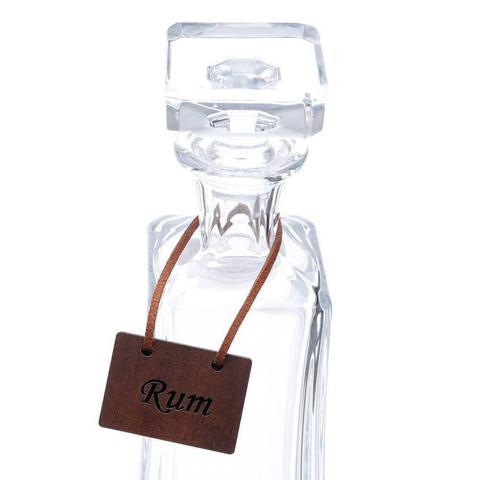 Imagem de Placas para Bebidas Drink 4 Peças Quartzo Rojemac Marrom