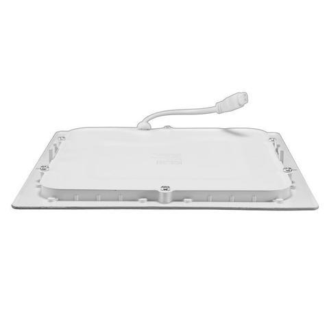 Imagem de Plafon Led de EMBUTIR QUADRADO 18W - 22 x 22 cm Branco Frio 6000K