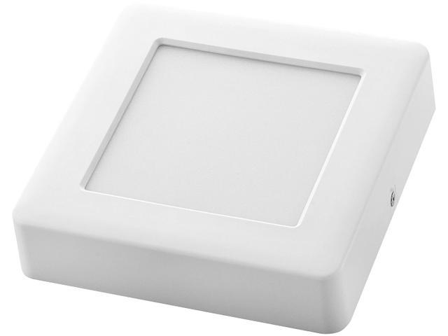 Imagem de Plafon LED Quadrado Branco 12W 1 Lâmpada