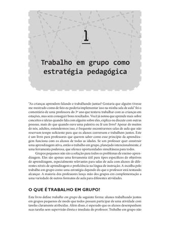 Imagem de Planejando o Trabalho em Grupo