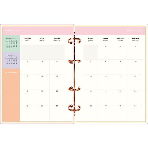 Imagem de Planner Argolado Happy 2021 - Great - Tilibra