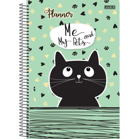 Imagem de Planner permanente espiral 96 fls Me and my pets São Domingos