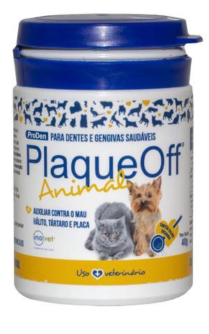 Imagem de PlaqueOff Animal Inovet Para Cães e Gatos 40g - Inovet