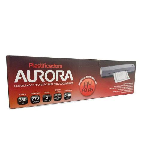 Imagem de Plastificadora A4 A3 Aurora LM3233H 220V