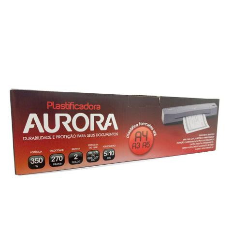 Imagem de Plastificadora de Documentos Até A3 Polaseal LM3233H Aurora