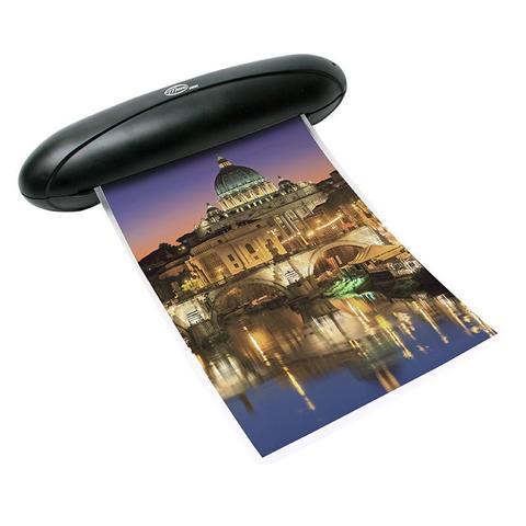Imagem de Plastificadora de Papel A4 Compact Preta 220 Volts Menno