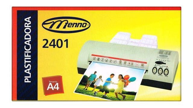 Imagem de Plastificadora de Papel Documento A4 2401 220v Menno