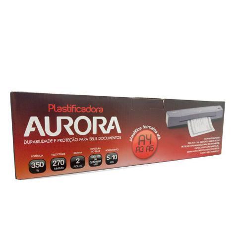 Imagem de Plastificadora Documento Aurora A3A4 Polaseal LM3233H-2 220V