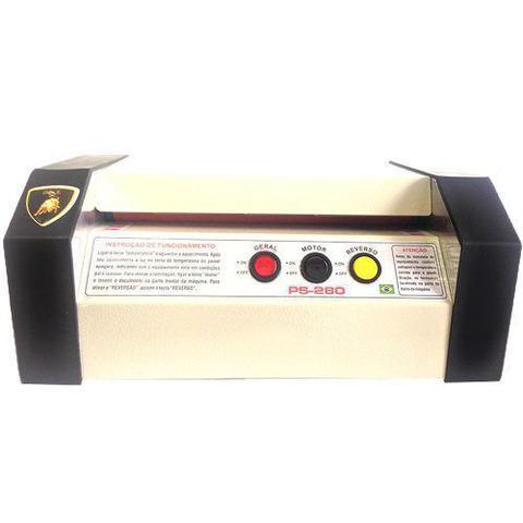 Imagem de Plastificadora Ps-280 + 100 Polaseal Rg + 100 Polaseal A4