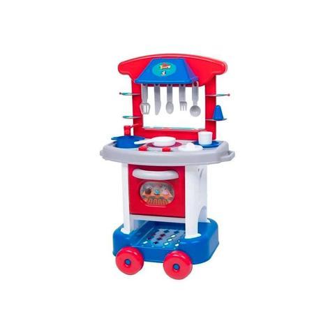 Imagem de Play Time Cozinha Azul - 2421 - Cotiplás