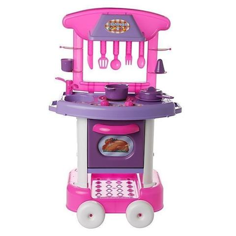 Imagem de Play Time Cozinha Rosa - Cotiplás