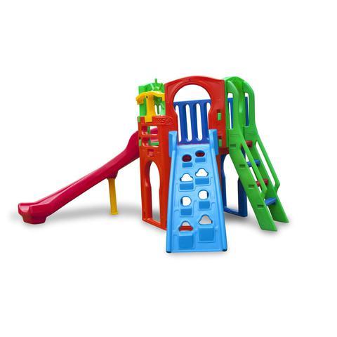 Imagem de Playground Infantil Plástico com Escorregador Royal Play A Freso Colorido