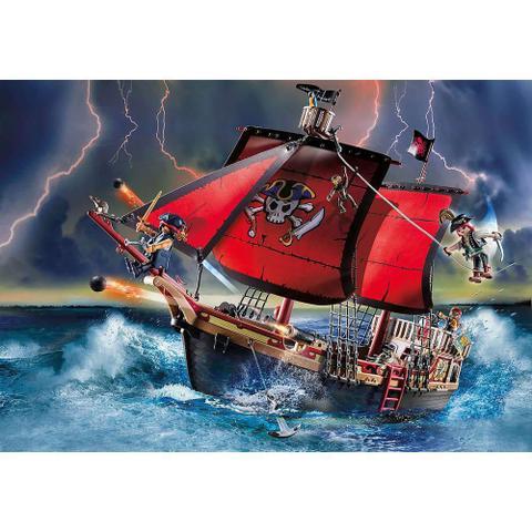 Imagem de Playmobil - Barco Pirata Caveira