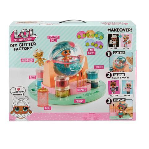Imagem de Playset com Mini Boneca - LOL Surprise - Diy Glitter Station - Candide