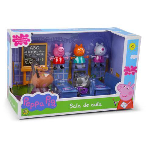 Imagem de Playset e Mini Figuras - Peppa Pig - Sala de Aula da Peppa - DTC