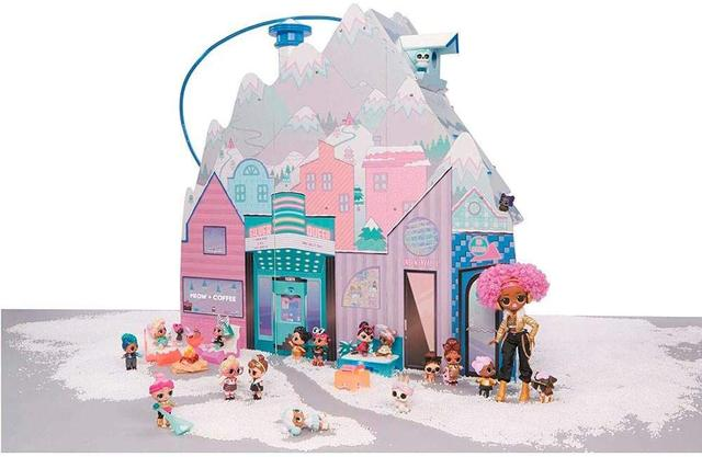 Imagem de Playset LOL Chalet Winter Disco 95 Surpresas - Candide