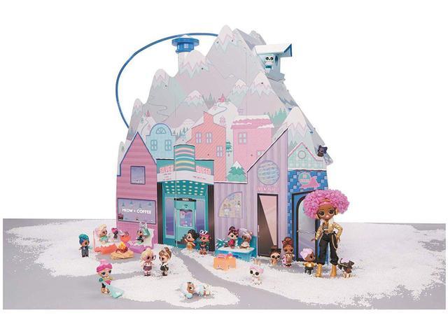 Imagem de Playset LOL Surprise Chalet Winter Disco Candide - 95 Peças