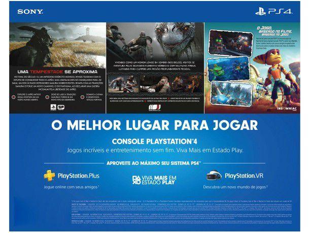 Imagem de PlayStation 4 Mega Pack V18 2021 1TB 1 Controle