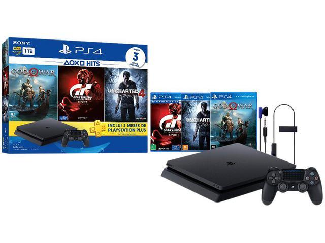 Imagem de Playstation 4 Slim 1TB Sony 1 Controle