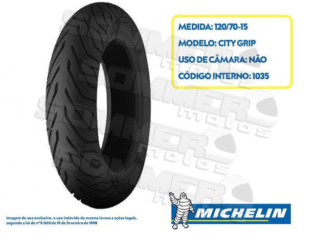 Imagem de Pneu 120-70-15 City Grip Michelin 56S tl(SEM Câmara)