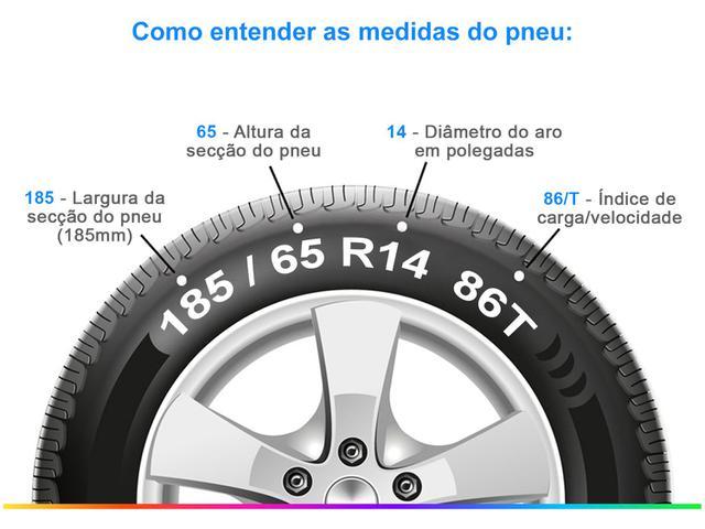 """Imagem de Pneu 14"""" Pirelli 185/65R14 86T"""