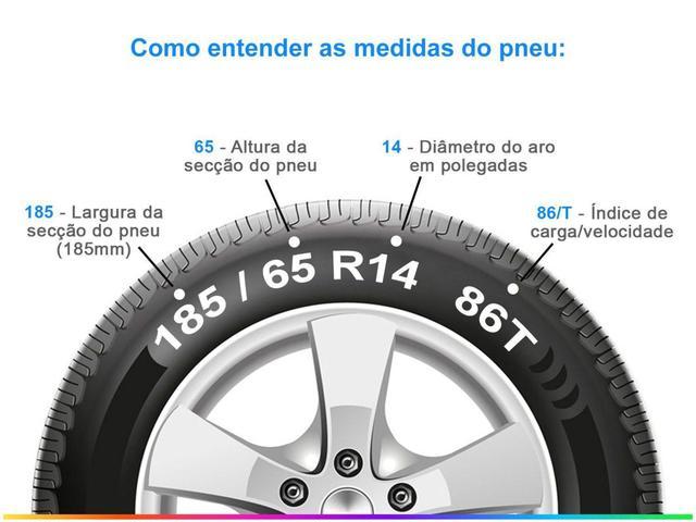 "Imagem de Pneu Aro 14"" Pirelli 185/65 R14 86T - Cinturato P1"