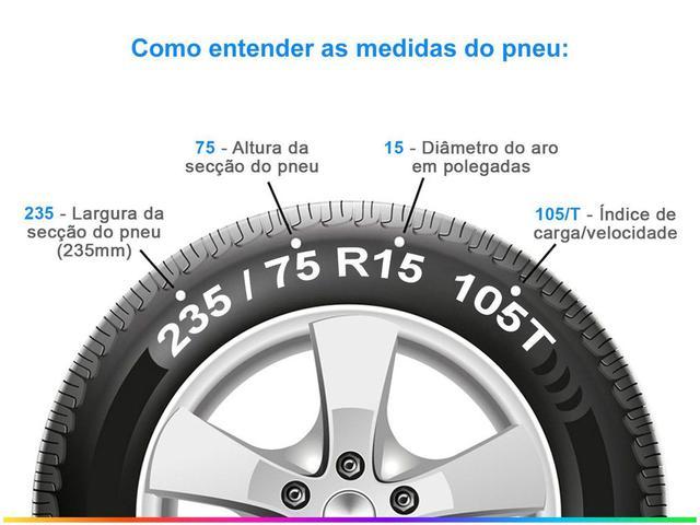 """Imagem de Pneu Aro 15"""" Michelin 235/75R15  - LTX Force 105T para Caminhonete e SUV"""