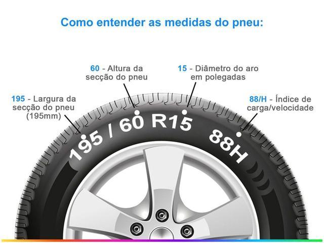 """Imagem de Pneu Aro 15"""" Pirelli 195/60R15 88H - Cinturato P1"""
