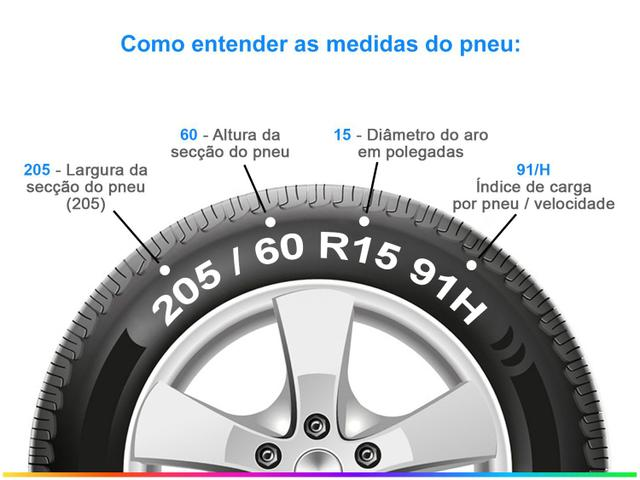 """Imagem de Pneu Aro 15"""" Pirelli 205/60R15 91H Scorpion ATR"""