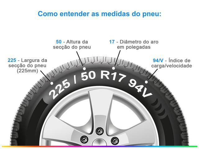 """Imagem de Pneu Aro 17"""" Bridgestone 225/50R17 94V"""