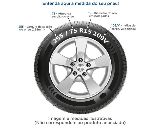 "Imagem de Pneu Aro 17"" Bridgestone 225/50R17"