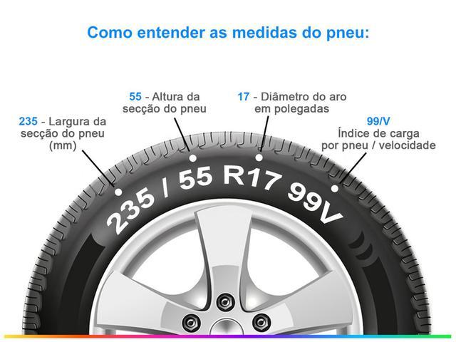 """Imagem de Pneu Aro 17"""" Bridgestone 235/55R17 99V"""