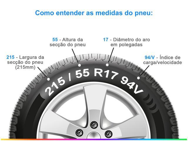 """Imagem de Pneu Aro 17"""" Michelin 215/55R17 TL"""