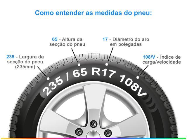 """Imagem de Pneu Aro 17"""" Pirelli"""