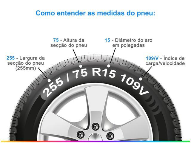 "Imagem de Pneu Aro 18"" Bridgestone 265/60R18"