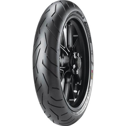 Imagem de Pneu de moto Aro 17 Pirelli Diablo Rosso II 100/80R17 52H