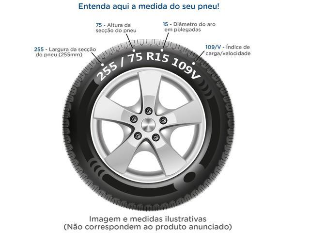 """Imagem de Pneu de Moto Aro 17"""" Pirelli Traseiro 110/90"""