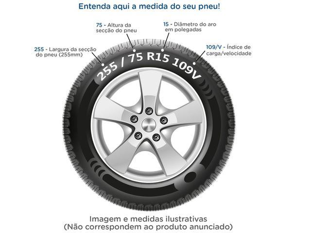 """Imagem de Pneu de Moto Aro 18"""" Pirelli Traseiro 90/90"""