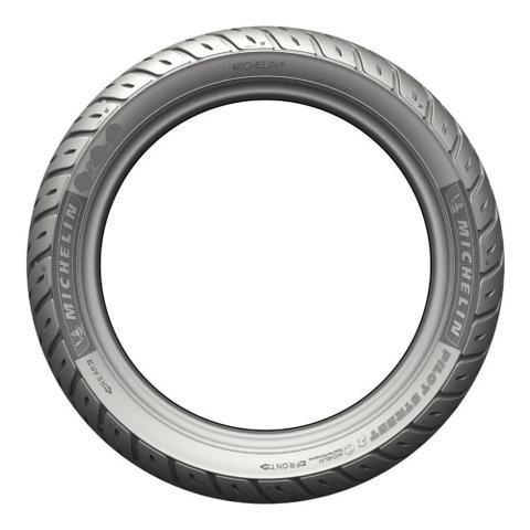 Imagem de Pneu de Moto Michelin PILOT STREET 2 Traseiro 100/80-18 M/C 59S TL Honda CG Titan 160