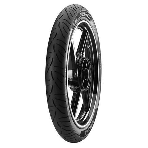 Imagem de Pneu de Moto Pirelli Aro 18 Super City 2.75-18 42P Dianteiro