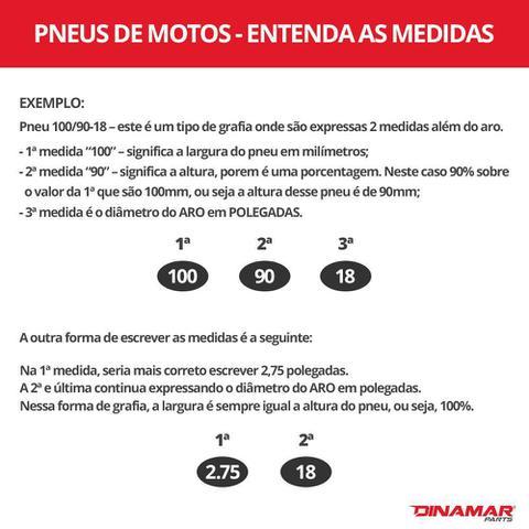 Imagem de Pneu Levorin Dianteiro Matrix 80/100-18 Honda CG 125/150/160, Titan, Fan, YBR 125, CBX 150/200 e similares