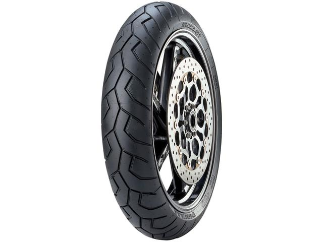 """Imagem de Pneu Moto Aro 17"""" Dianteiro Pirelli 120/70 58W"""
