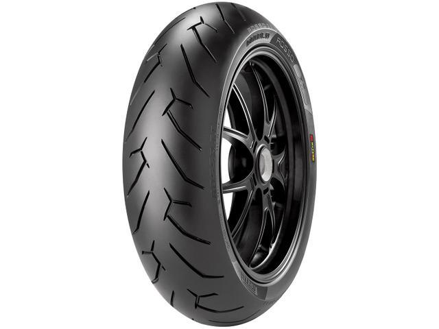 """Imagem de Pneu Moto Aro 17"""" Traseiro Pirelli 180/55 73W"""