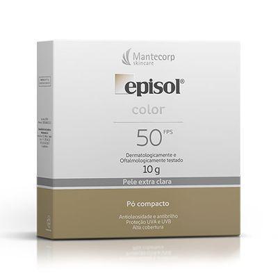 Imagem de Pó Compacto Episol Color Fps50 Pele Extra Clara 10g