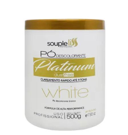 Imagem de Pó Descolorante Platinum White 9 Tons Souple Liss 500g