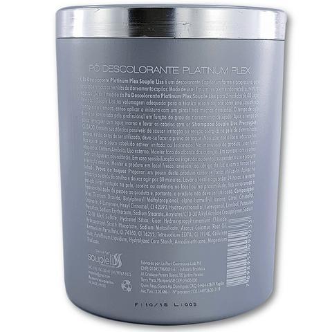 Imagem de Pó descolorante Profissional Platinum Blond Dust Free Plex 500g - Souple Liss