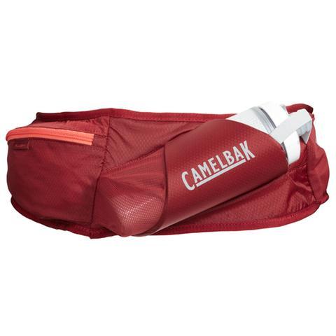 Imagem de Pochete de Hidratação Camelbak Flash Belt Vermelho com Garrafa Peak Chill