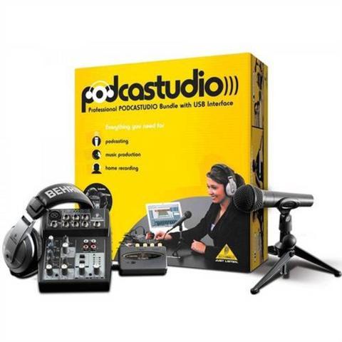 Imagem de Podcastudio Recording Kit Usb Behringer