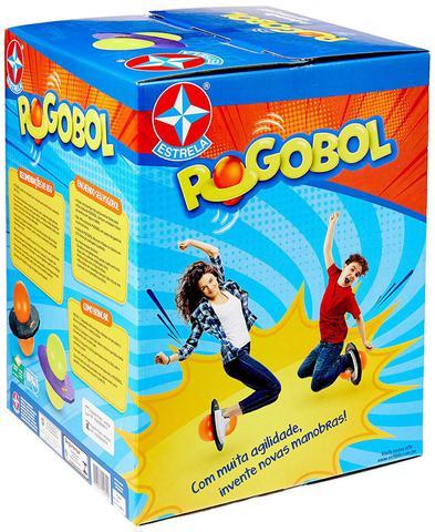 Imagem de Pogobol Roxo e Amarelo Estrela